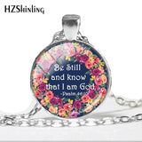 NEW Be Still And Know That I Am God Necklace