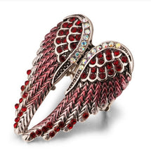 Load image into Gallery viewer, BOHO Angel Wings Stretch Ring