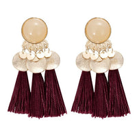 Bohemian Earring Long Tassel Drop Earrings