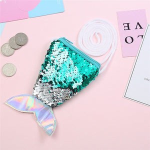 Mermaid Party Sequins Coin Purse