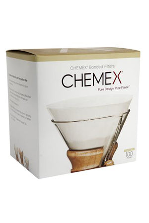 Chemex bonded pre-folded filter papers