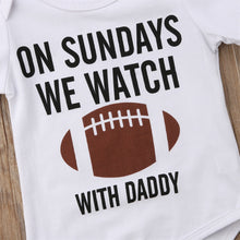 Load image into Gallery viewer, Football with daddy