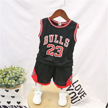 Load image into Gallery viewer, Bulls jersey 2pc set