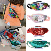 Load image into Gallery viewer, Sequins Glitter Mermaid Fanny pack