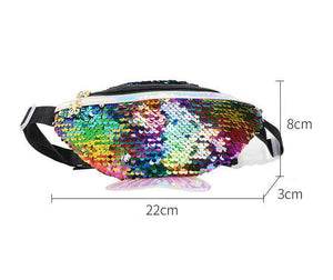 Sequins Glitter Mermaid Fanny pack