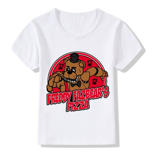 Children Five Nights At Freddy T shirt