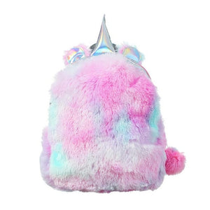 Unicorn Plush mini Backpack