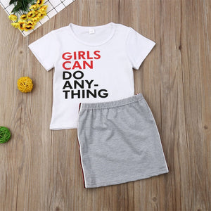 Girls Can Do Anything 2pc Set