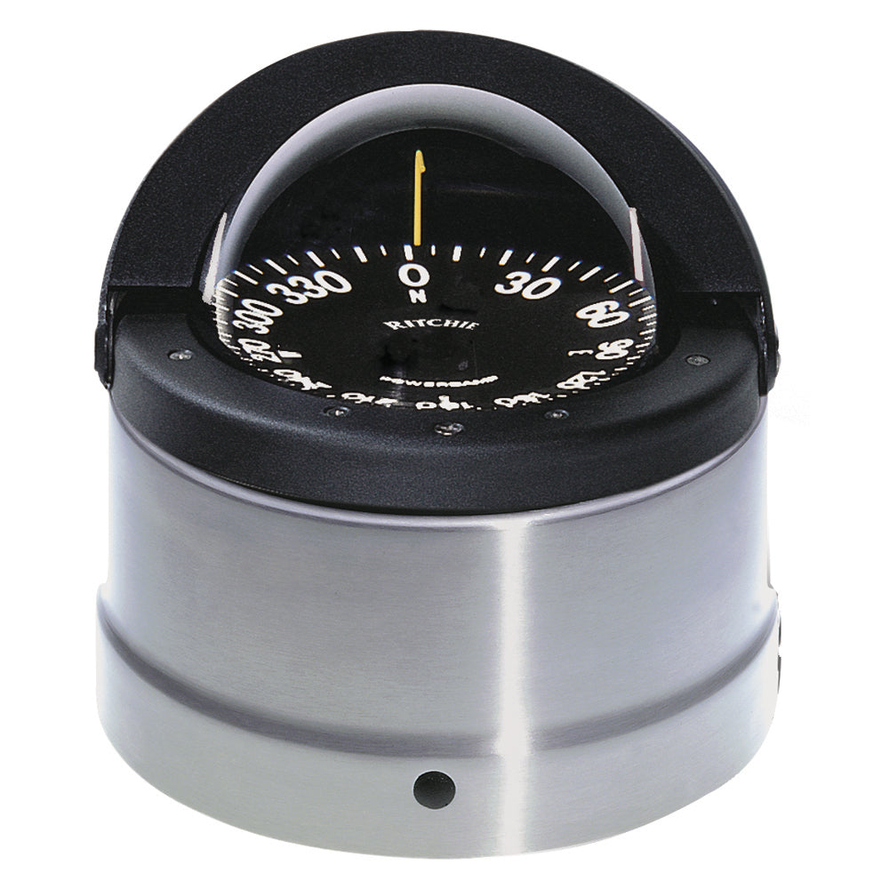 Ritchie DNP-200 Navigator Compass - Binnacle Mount - Polished Stainless Steel/Black [DNP-200]