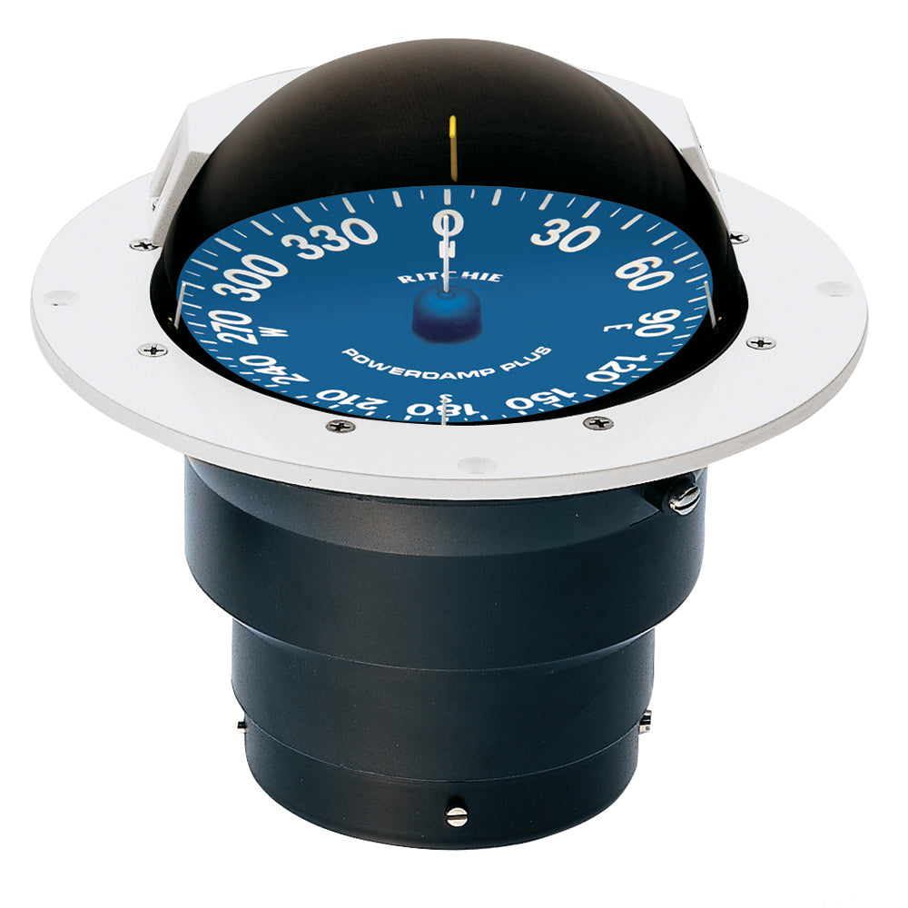 Ritchie SS-5000W SuperSport Compass - Flush Mount - White [SS-5000W]