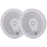 "Poly-Planar 6"" Titanium Series 3-Way Marine Speakers - (Pair)White [MA8506W]"