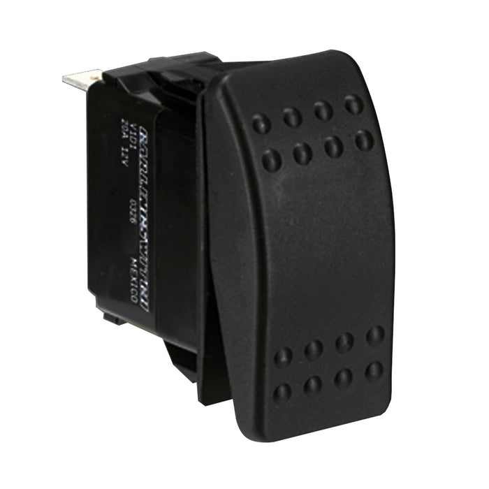 Paneltronics Switch SPDT Black On/Off/On Rocker [004-244]
