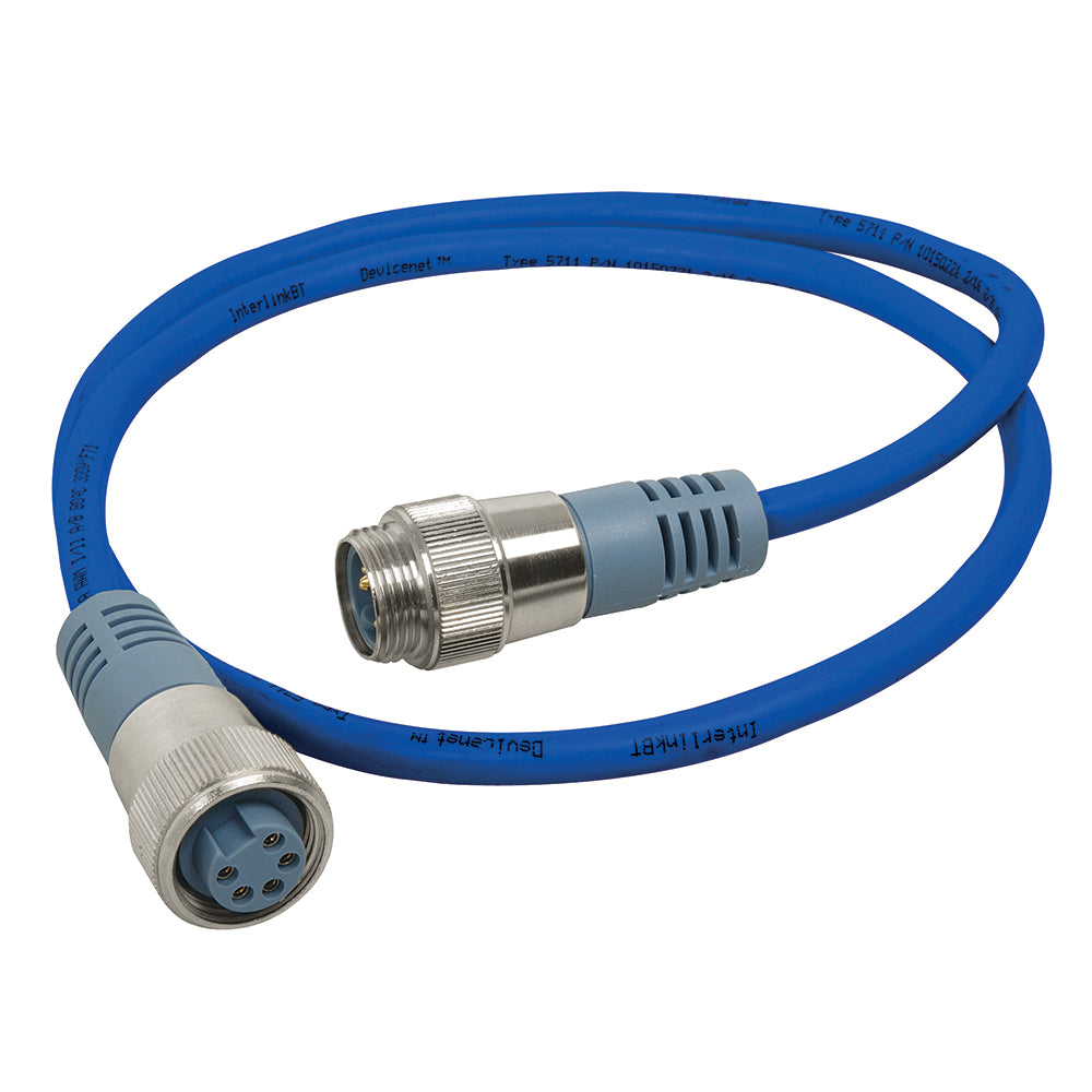 Maretron Mini Double Ended Cordset - Male to Female - 0.5M - Blue [NM-NB1-NF-00.5]