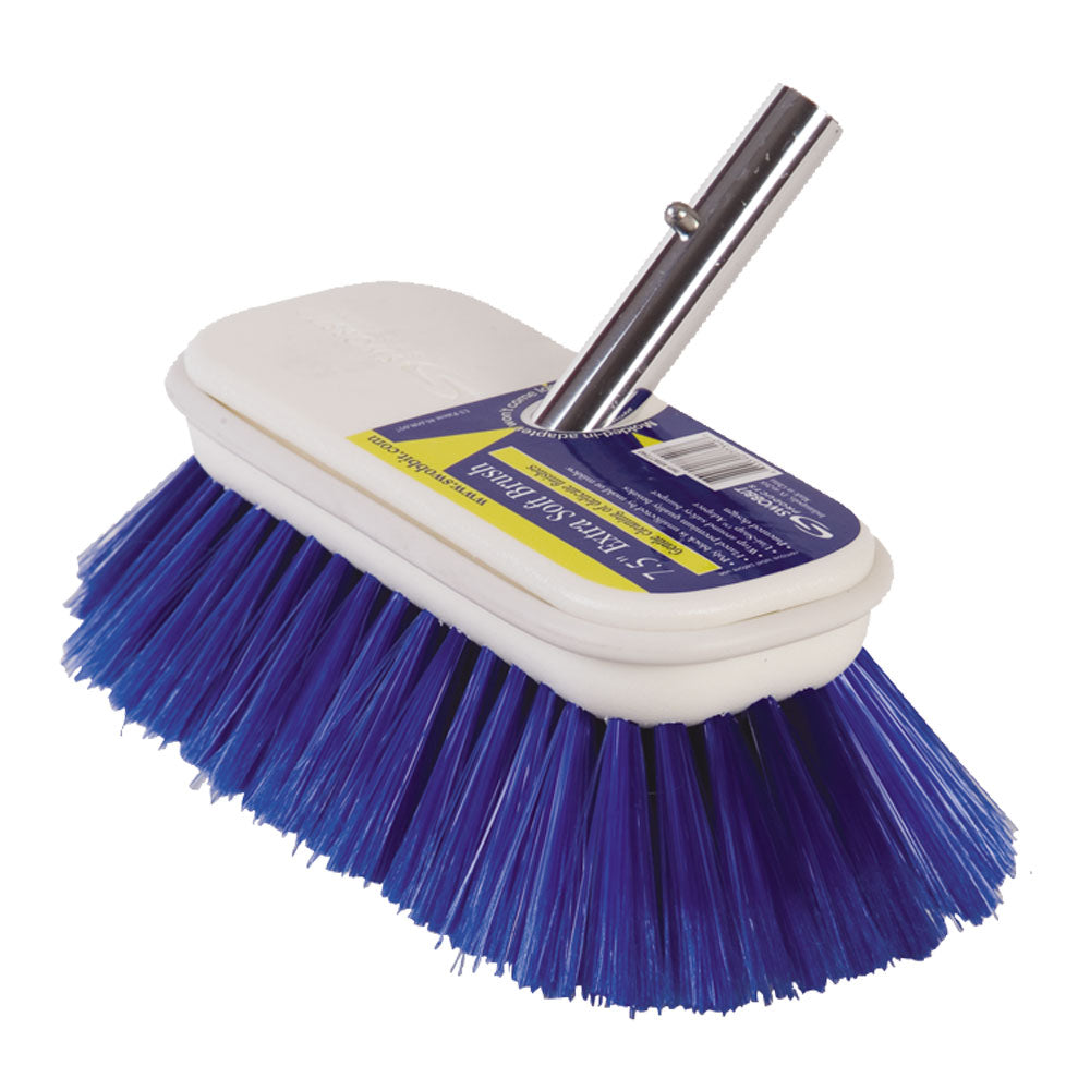 "Swobbit 7.5"" Extra Soft Brush - Blue [SW77340]"
