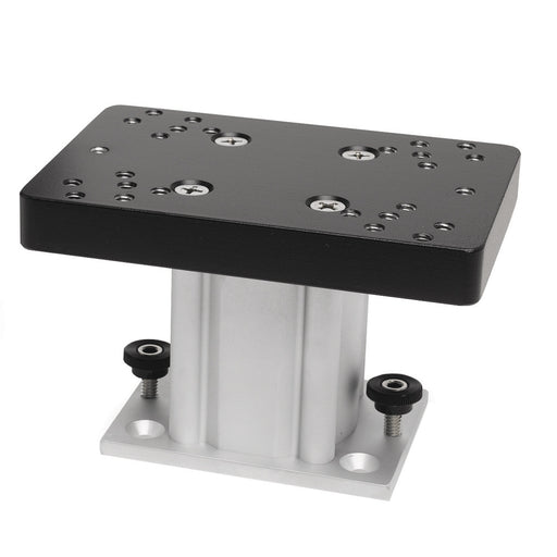 "Cannon Aluminum Fixed Base Downrigger Pedestal - 4"" [1904030]"