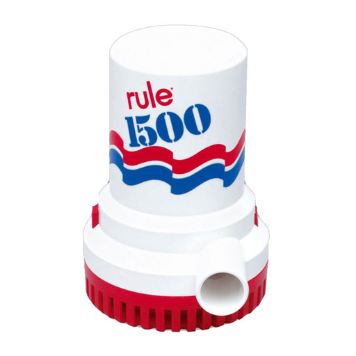 Rule 1500 GPH Non-Automatic Bilge Pump - 24v [03]