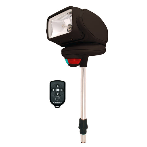 Golight Gobee Stanchion Mount w/Wireless Remote - Black [2151]