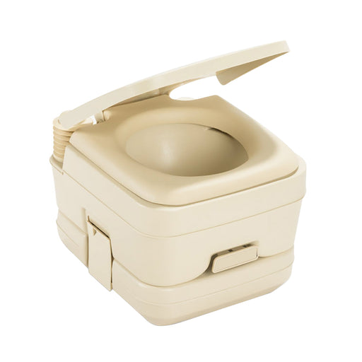 Dometic 964 Portable Toilet w/Mounting Brackets - 2.5 Gallon - Parchment [311096402]