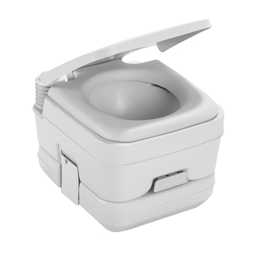 Dometic 964 Portable Toilet w/Mounting Brackets - 2.5 Gallon - Platinum [311096406]