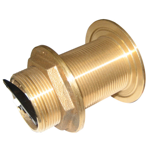 "Perko 1-1-2"" Thru-Hull Fitting w-Pipe Thread Bronze MADE IN THE USA [0322DP8PLB]"