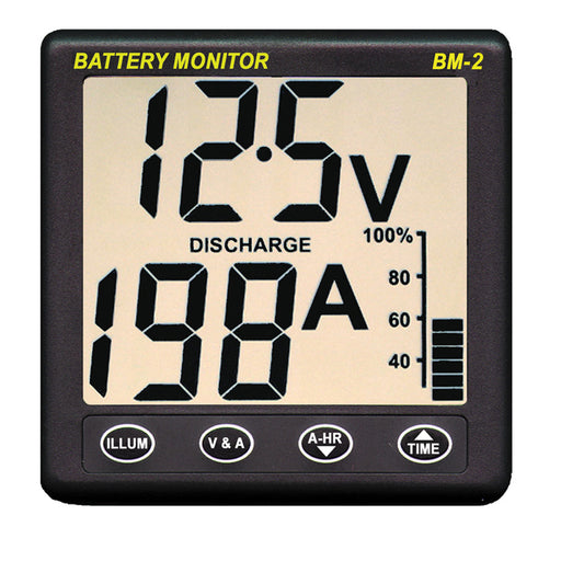 Clipper BM-2 Battery Monitor w-Shunt - 200Amp [BM-2]