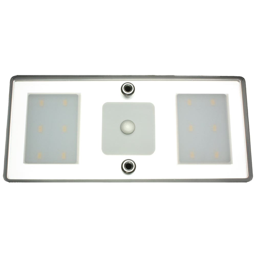 Lunasea LED Ceiling/Wall Light Fixture - Touch Dimming - Warm White - 6W [LLB-33CW-81-OT]