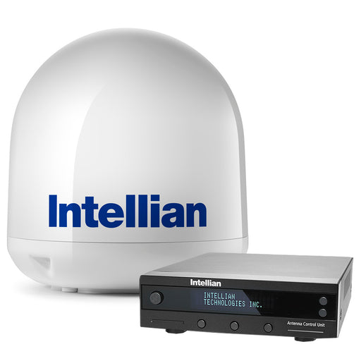 "Intellian i4P Linear System w/17.7"" Reflector & Universal Quad LNB [B4-419Q]"