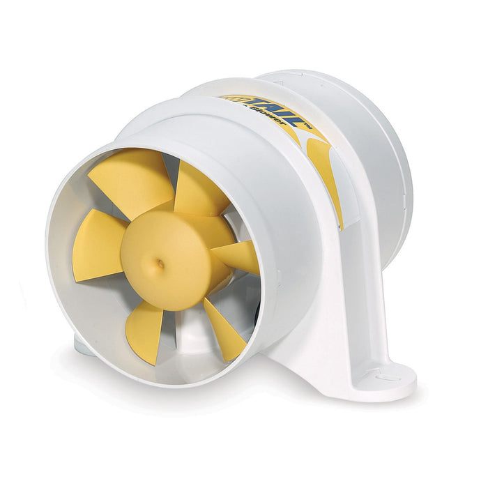 "Shurflo by Pentair YELLOWTAIL 4"" Marine Blower - 12 VDC, 215 CFM [277-4110]"