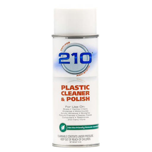 Camco 210 Plastic Cleaner Polish 14oz Spray [40934]