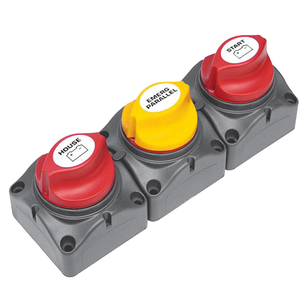 BEP Battery Distribution Cluster f-Single Engine w-Two Dedicated Battery Banks - Horizontal Mounting [715-H]