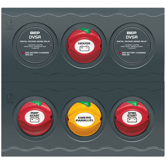 BEP Battery Management Contour Connect Panel f-Twin Engines w-VSR's [CC-803N]