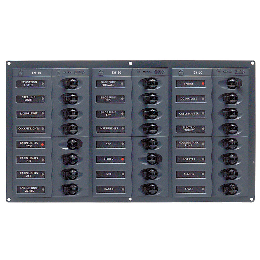 BEP DC Panel - 24-Way - No Meter [905NM]