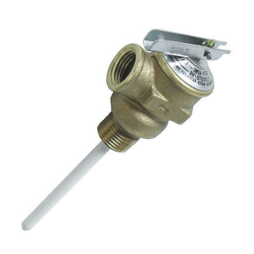 "Camco Temperature & Pressure Relief Valve - 1-2"" Valve w-4"" Probe [10423]"