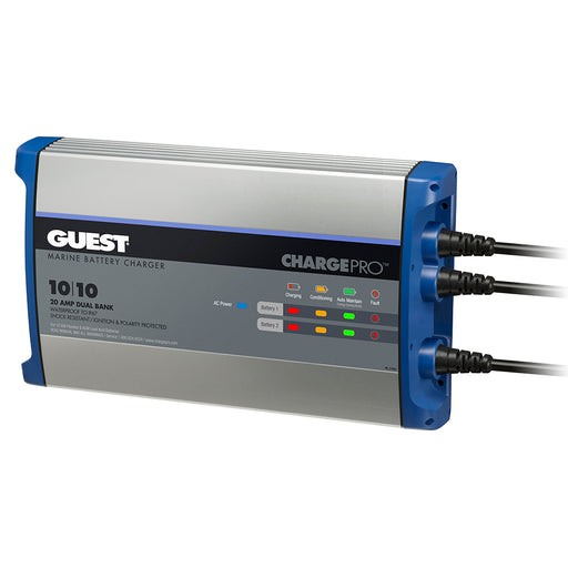 Guest On-Board Battery Charger 20A - 12V - 2 Bank - 120V Input [2720A]