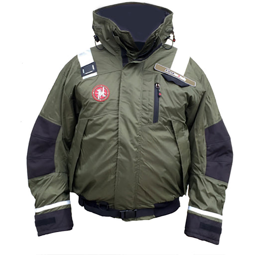 First Watch AB-1100 Pro Bomber Jacket - Large - Green [AB-1100-PRO-GN-L]