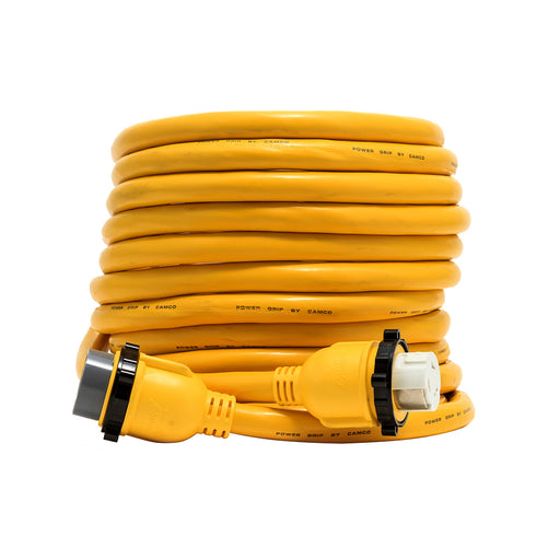 Camco 50 Amp Power Grip Marine Extension Cord - 50 M-Locking-F-Locking Adapter [55623]