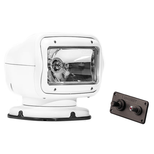 Golight Radioray GT Series Permanent Mount - White Halogen - Hard Wired Dash Mount Remote [2020GT]