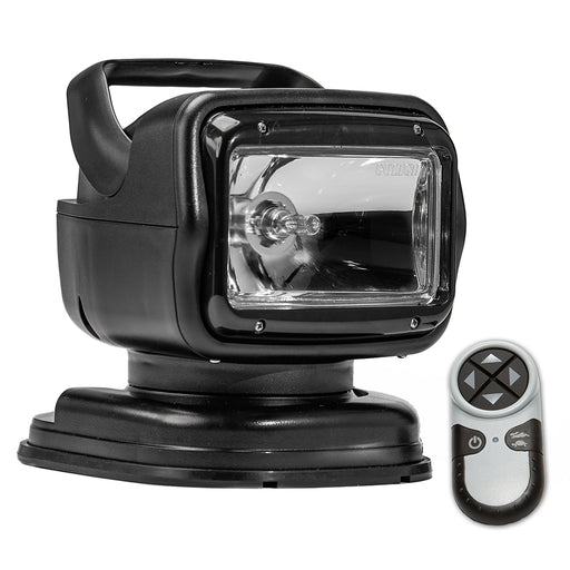 Golight Radioray GT Series Portable Mount - Black Halogen - Wireless Handheld Remote Magnetic Shoe Mount [7951GT]