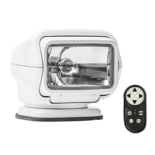 Golight Stryker ST Series Permanent Mount White Halogen w/Wireless Handheld Remote [3000ST]