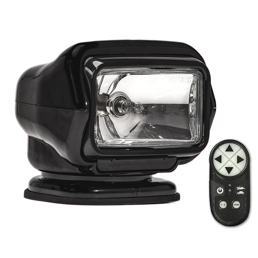 Golight Stryker ST Series Permanent Mount Black Halogen w-Wireless Handheld Remote [3051ST]