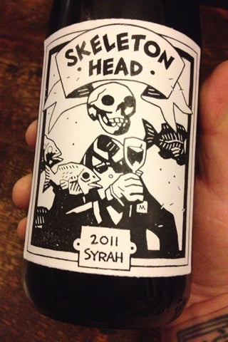 *PRE-RELEASE SALE* 2011 Skeleton Head Syrah