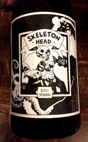 *PRE-RELEASE SALE* 2011 Skeleton Head Syrah (Ltd. Ed. 3L Magnum)