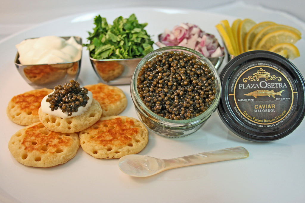 Plaza Gold Osetra Caviar Gift Pack