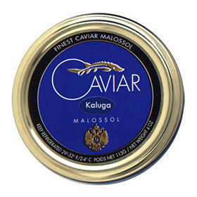 Fresh River Kaluga Caviar in Tin