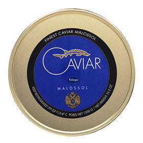 Fresh River Kaluga Caviar in Large Jar