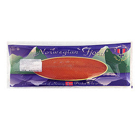 Norwegian Superior Smoked Salmon, Non-Sliced, Kosher