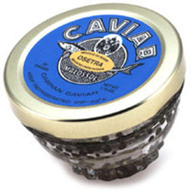 Osetra Caviar with Crystal Gift Jar