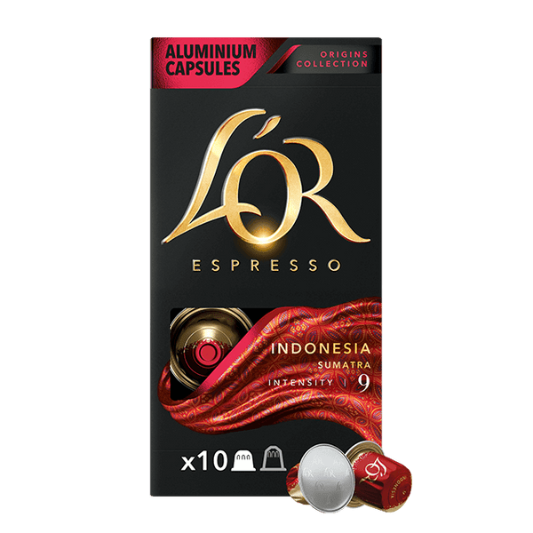 L'OR Espresso Indonesia - Intensity 9 - 10pk