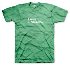 LINE - I am a Skier - Tee Green (original)