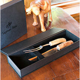 Rustic Carving Set